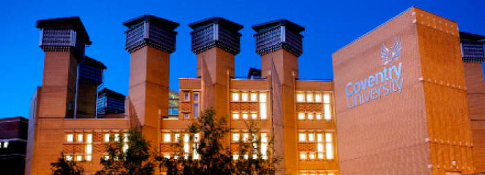 Lighting up Coventry University with Fumagalli