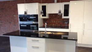 Finishing touches for luxury apartments