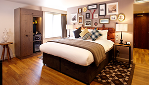 Deco-rative accessories for Hotel Indigo, York