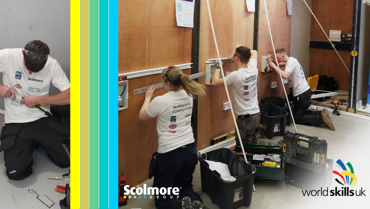 Scolmore on the judging panel for SkillELECTRIC 2019