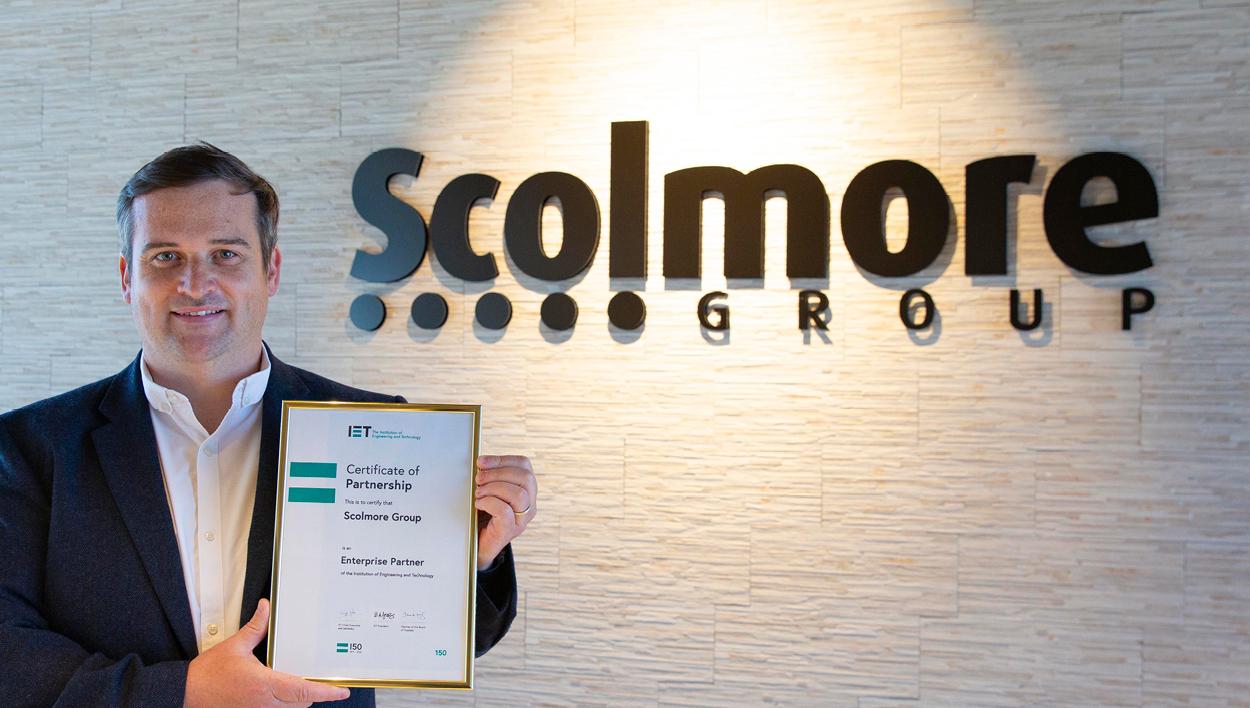 Scolmore Group joins IET as its 150th Enterprise Partner